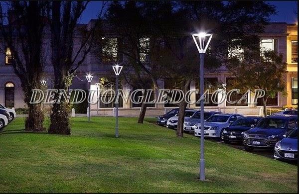 Đèn chiếu sáng đô thị, sân vườn ứng dụng rộng rãi