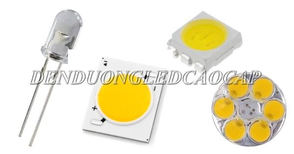 Cấu tạo chip LED COB