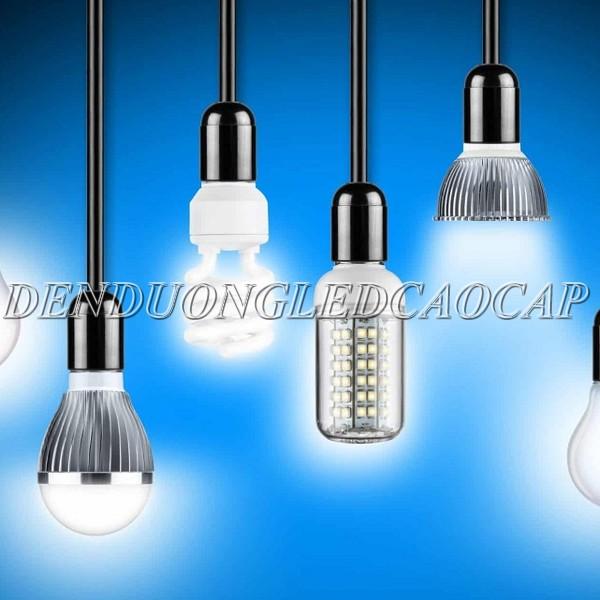 Đèn LED hiện đại và đèn sợi đốt truyền thống