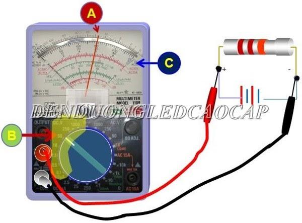 Đồng hồ vạn năng sử dụng trong đo điện áp của thiết bị điện