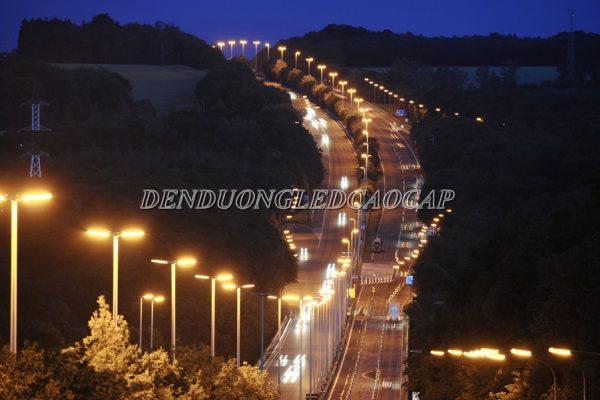 Ứng dụng chiếu sáng của đèn đường led D5-112