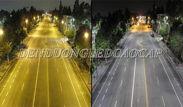 Ứng dụng chiếu sáng của đèn đường led D6-80