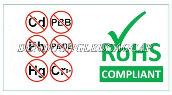 Tiêu chuẩn RoHS 1 hạn chế 6 chất độc hại