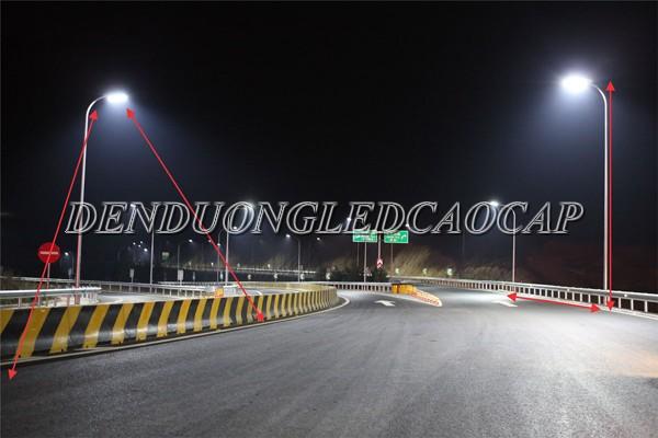 Đèn đường LED D14-150 chiếu sáng đường phố