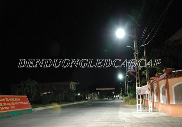 Đèn đường LED D14-50 chiếu sáng nông thôn tiết kiệm điện năng