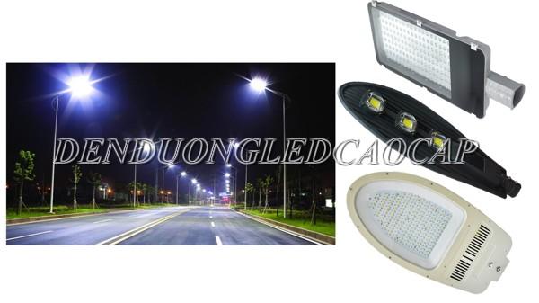 Đèn đường LED 150w thiết kế hiện đại đa dạng kiểu dáng
