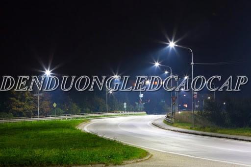Đèn đường LED D15-50 chiếu sáng đường đô thị