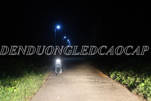 Đèn đường LED D23-50 chiếu sáng đường nông thôn