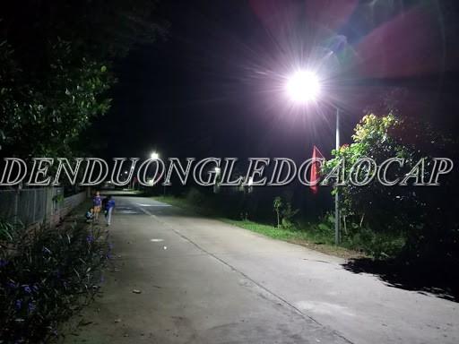 Đèn đường LED D18-50 chiếu sáng đường đi nông thôn