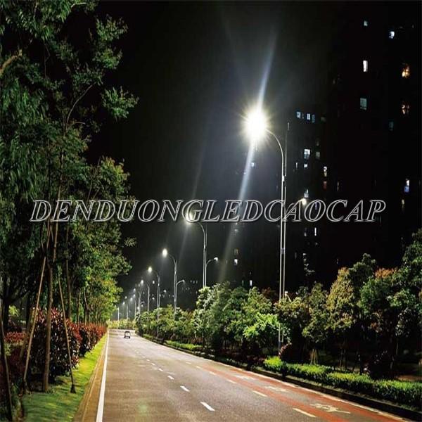 Đèn đường LED D25-50 chiếu sáng đường đi KCN