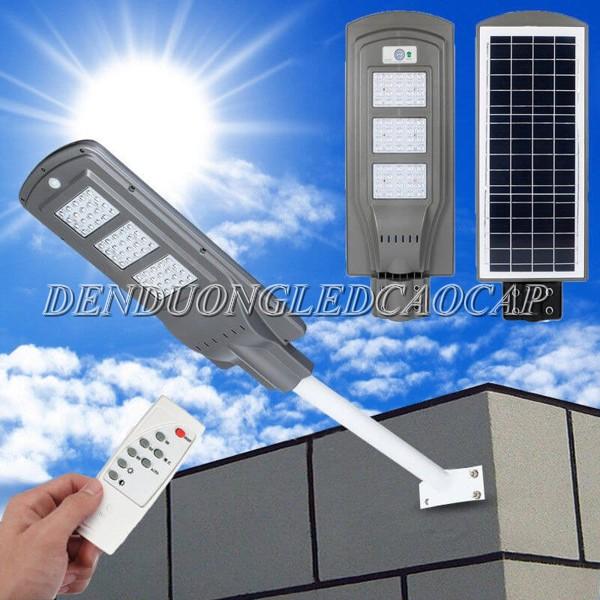 Kiểu dáng đèn đường năng lượng mặt trời 150w liền PIN