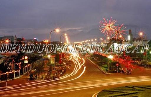 Đèn đường LED D15-100 chiếu sáng đường phố