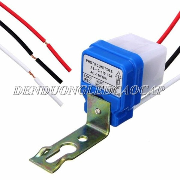 Thiết kế vỏ cảm biến ánh sáng AS10 220V 10A