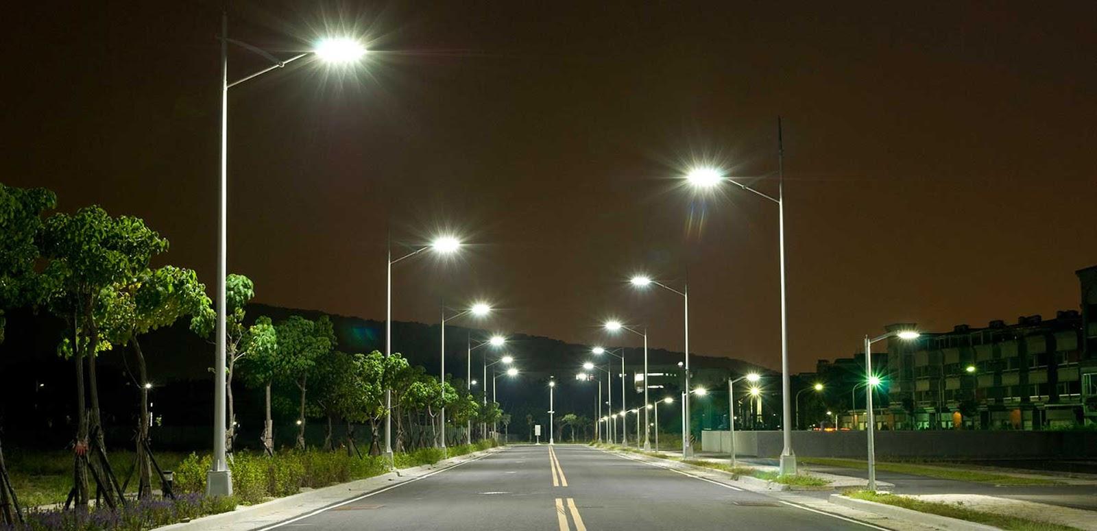 Bóng đèn đường LED 120w chiếu sáng đường phố