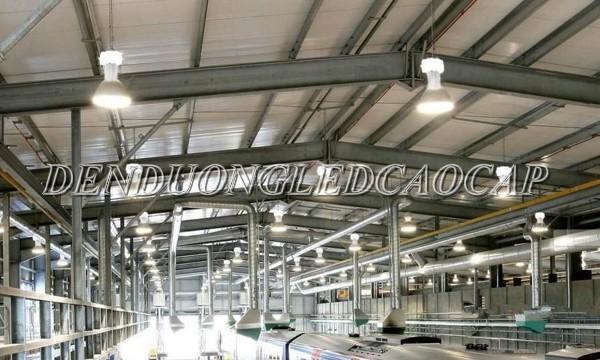 Đen cao áp E27-150w lắp đặt sử dụng chiếu sáng nhà xưởng, quy mô nhỏ