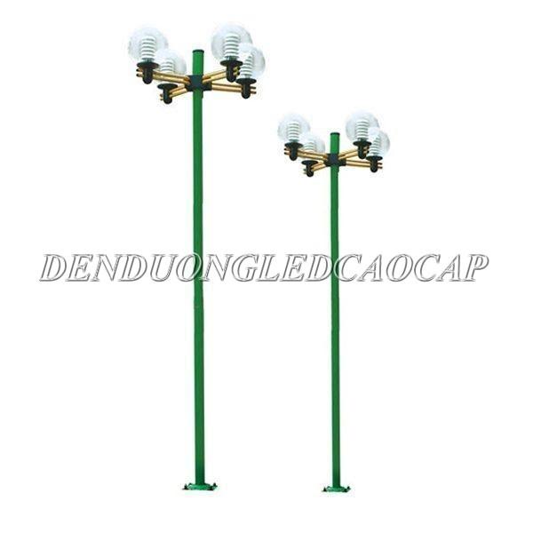 Kiểu dáng cột đèn Arlequin màu xanh lá cây