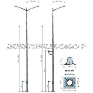 99+ cột đèn đường mạ kẽm Giá Rẻ 2021