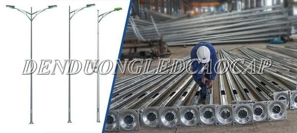 Công nghệ sản xuất cột đèn chiếu sáng