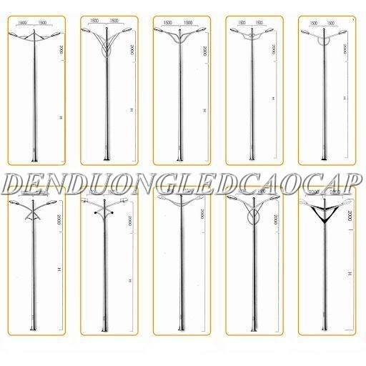 Quy trình sản xuất cột đèn chiếu sáng