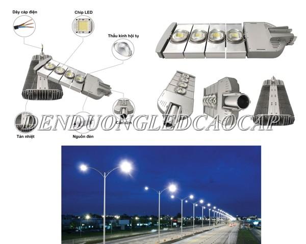 Kiểu dáng đèn đường LED 200w D9