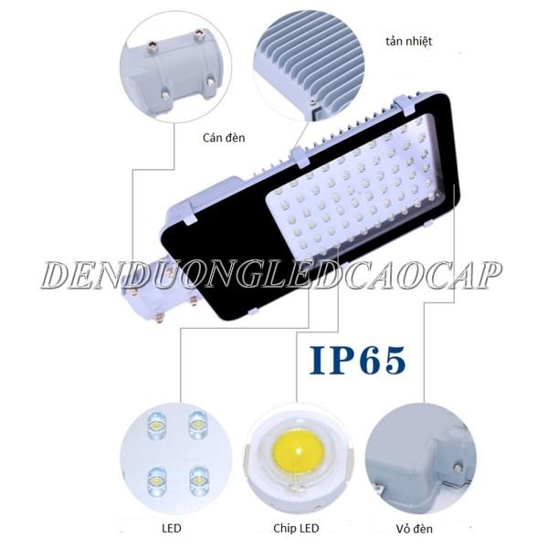 Cấu tạo đèn đường LED 150w